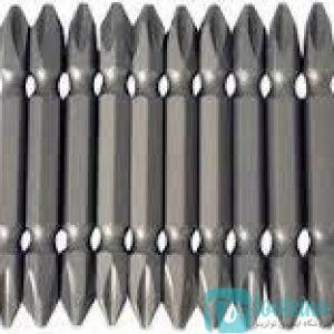 نوک پیچ گوشتی دوطرف چهارسو PH2XPH2 طول 65 کومکومیلیمتر ZINC