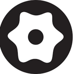 نوک پیچ گوشتی ستاره ای سوراخ دار T10 طول ۱۰سانت کمکو