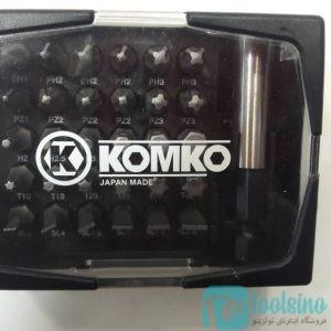 ست نوک پیچ گوشتی کومکو KOMKO