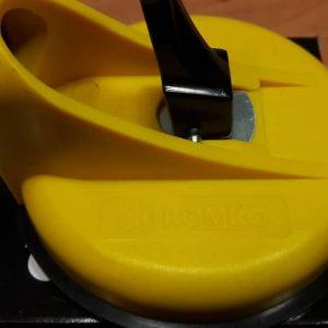قاپک دوقلو ثابت پلاستیکی تا وزن ۸۰ کیلوکمکو