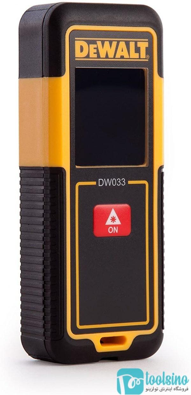 متر لیزری 30 متری دیوالت کد WW033