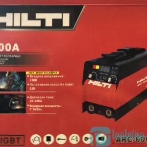 دستگاه جوش اینورتر350 آمپر هیلتی